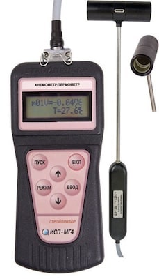 Анемометры-термометры цифровые ИСП-МГ4, ИСП-МГ4.01, ИСП-МГ4ПМ